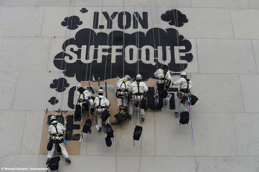 © Romain Étienne / Greenpeace